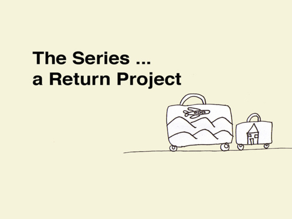The Series ... a Return Project's video poster