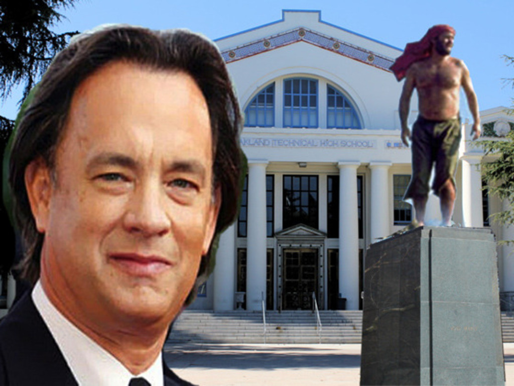 Inspirational Tom Hanks Statue's video poster