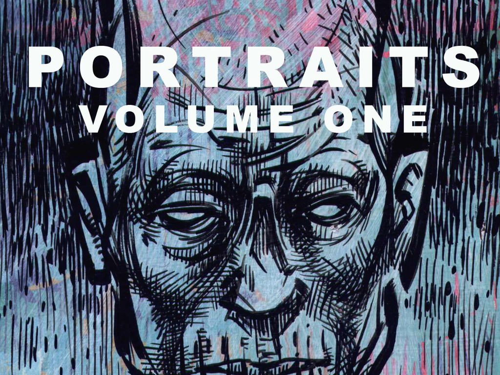 'Portraits Volume One' a book of art by DWITT's video poster