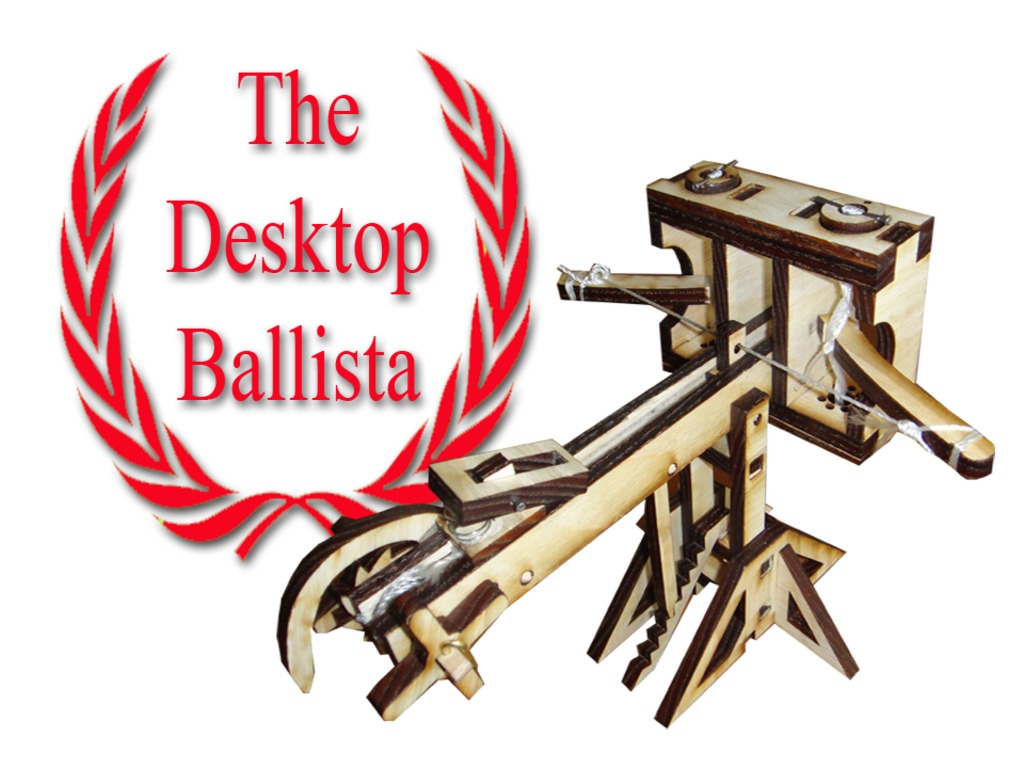 The Desktop Ballista: Shoot toothpicks into the ancient past's video poster