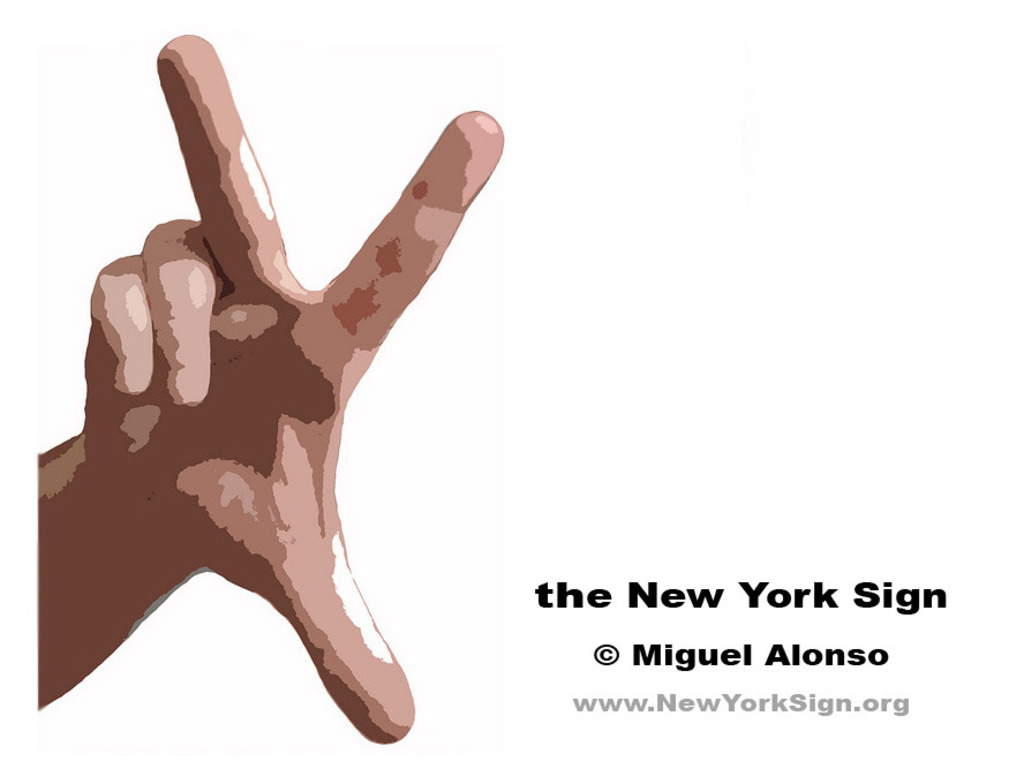 the New York Sign - the new symbol of NY's video poster