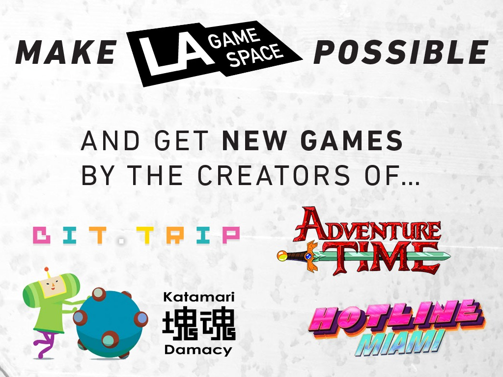 Make LA Game Space possible—Best Game Bundle Ever for $15!'s video poster