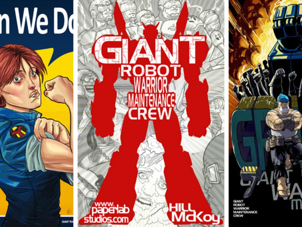 Giant Robot Warrior Maintenance Crew's video poster