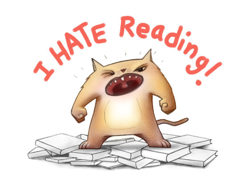 I HATE READING! children's app & eBook's video poster