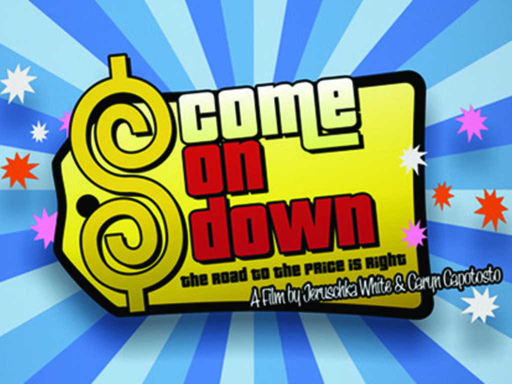 """""""Come On Down! The Road to 'The Price Is Right'"""" doc film's video poster"""