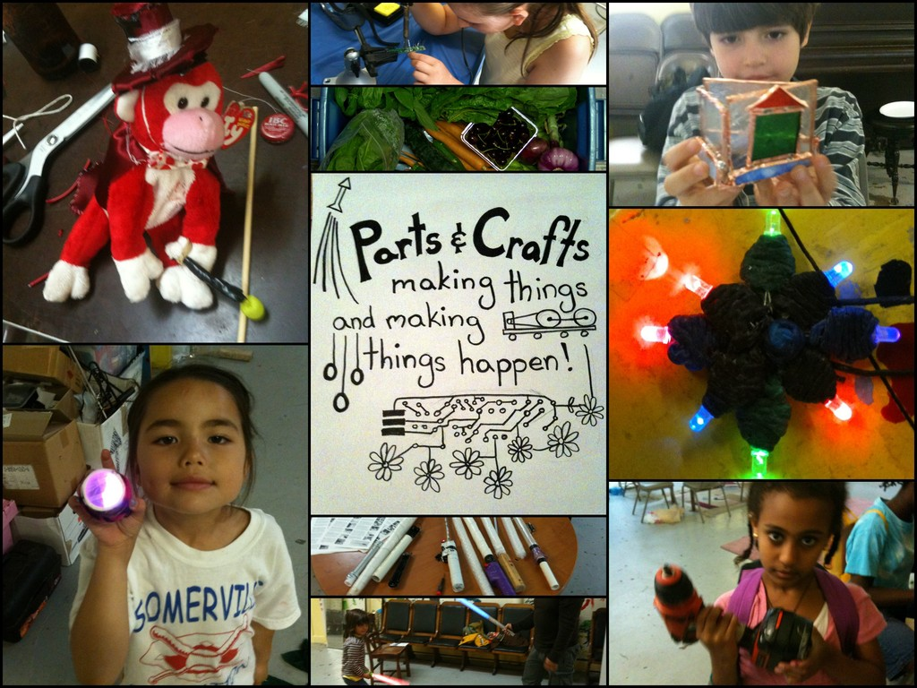 Parts and Crafts:  Community Supported Education's video poster