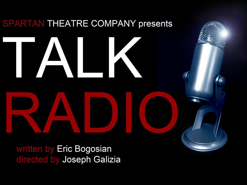 """Talk Radio"" by Eric Bogosian - Spartan Theatre Company's video poster"