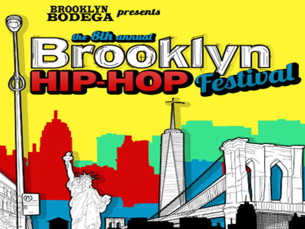 The 8th Annual Brooklyn Hip-Hop Festival's video poster