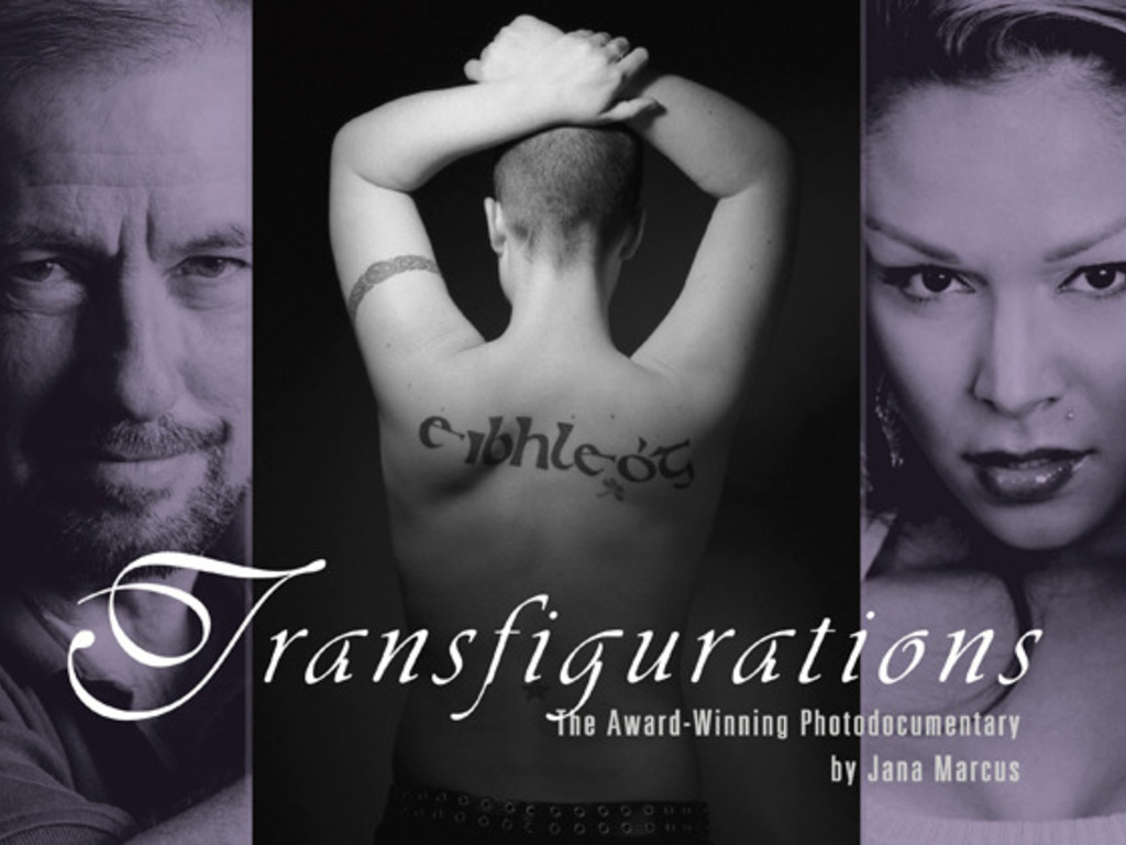 "Acclaimed photodocumentary ""Transfigurations"" 's video poster"