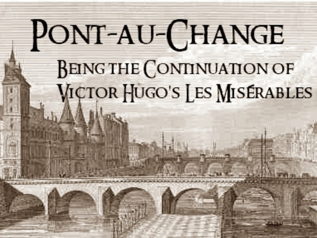 "Bring the ""Pont-au-Change"" series Home (and back to print)!'s video poster"