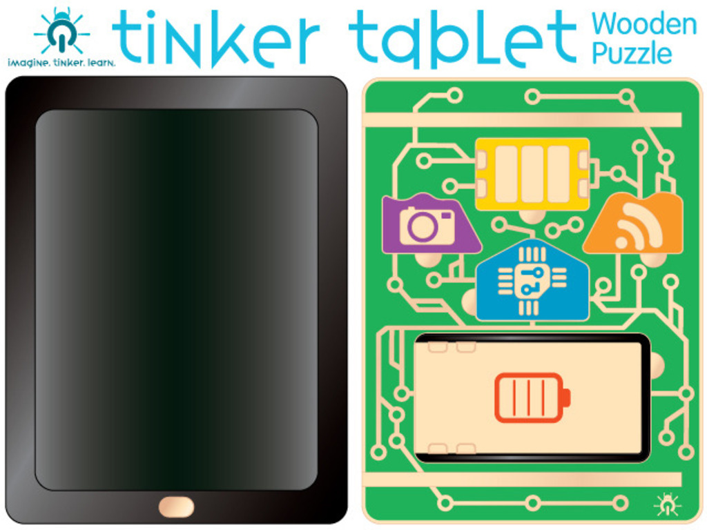Tinkermite Tablet: Low-Tech Play, High-Tech Learning!'s video poster