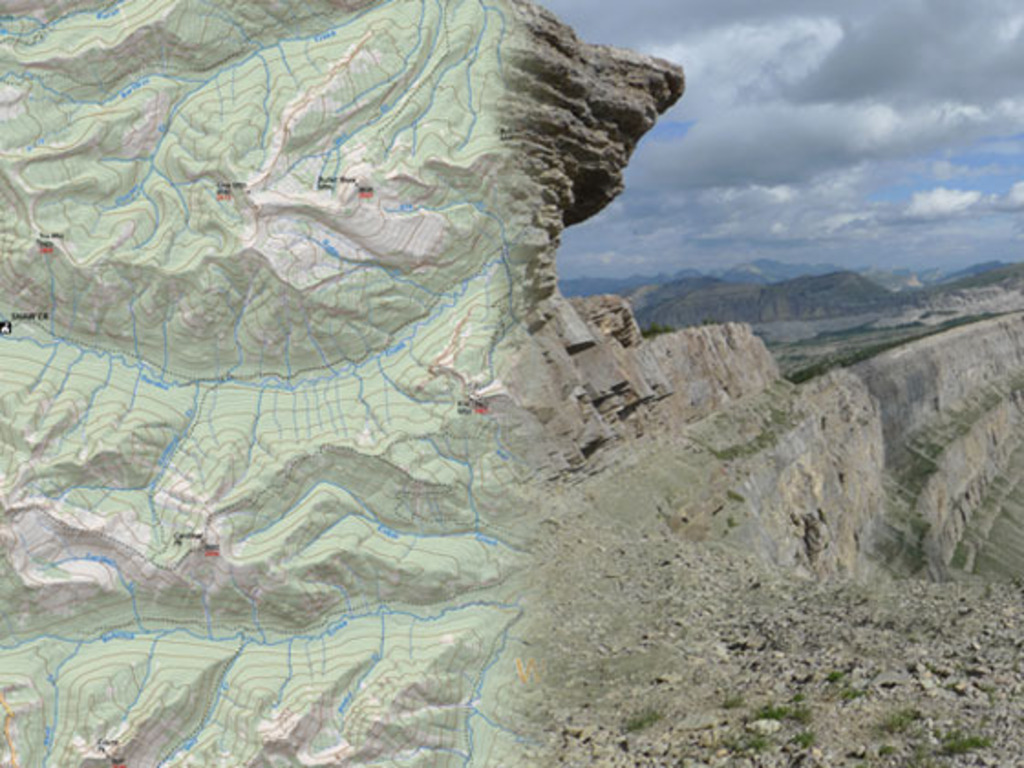 Outdoor Recreation Map of the Bob Marshall Wilderness's video poster