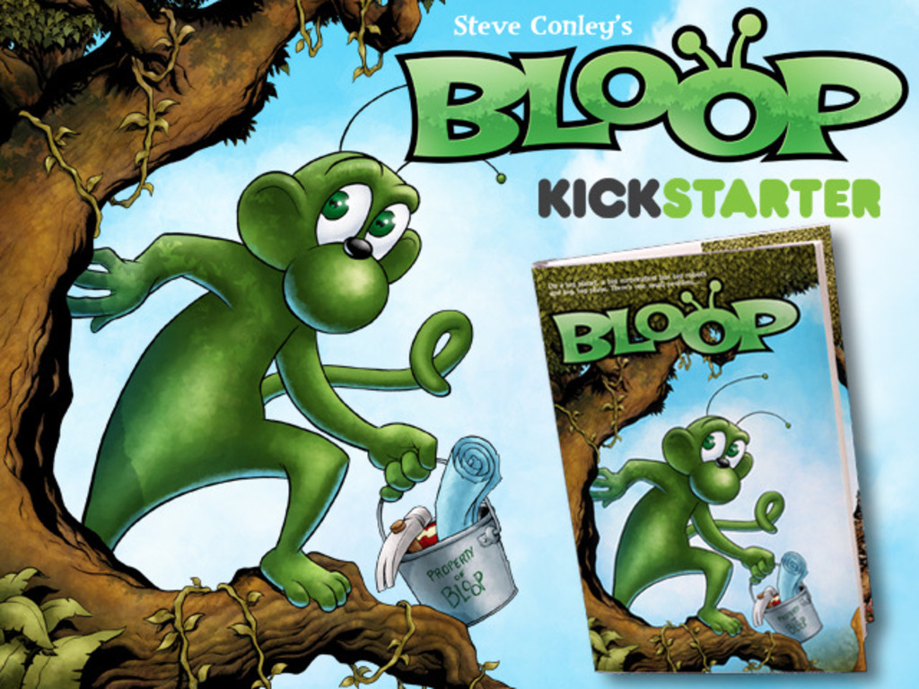 BLOOP: Part One - Deluxe, Oversized Hardcover's video poster