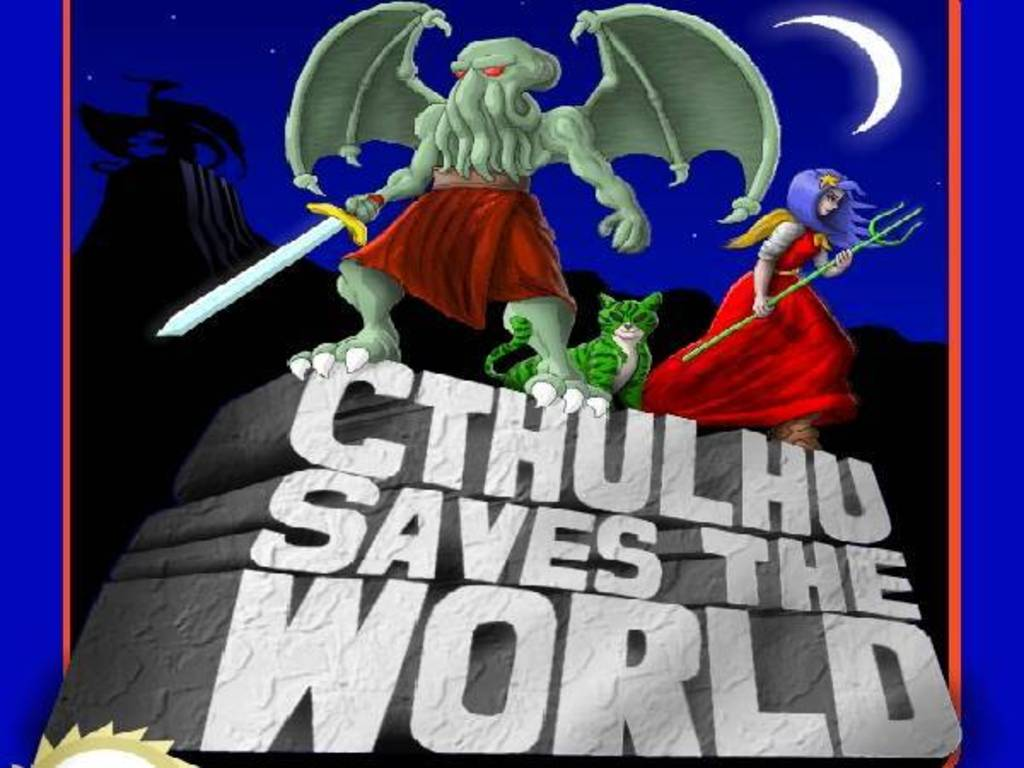 Cthulhu Saves the World enhanced version for PC & XBox 360's video poster