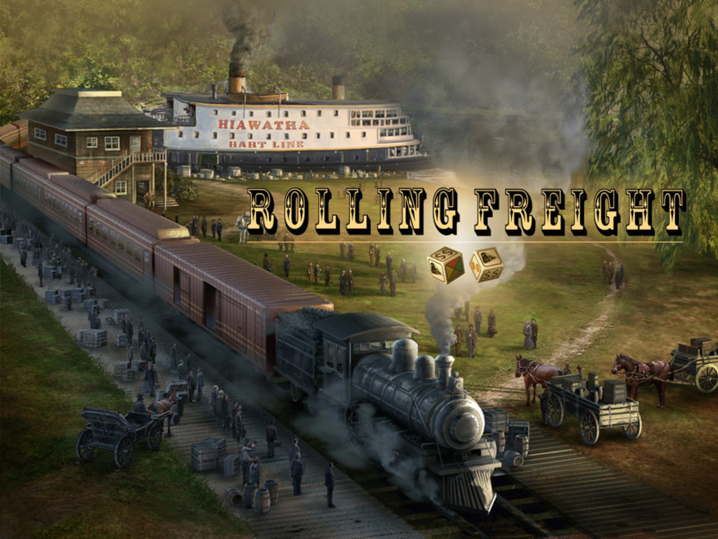 Rolling Freight Board Game's video poster