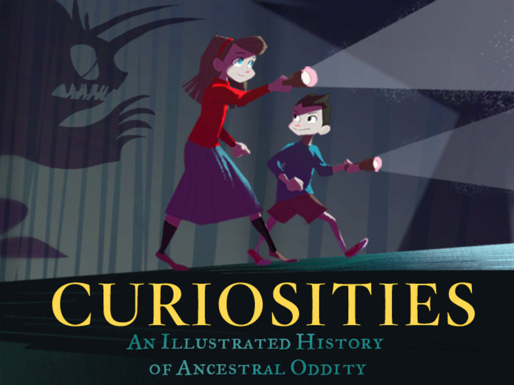 Curiosities: An Illustrated History of Ancestral Oddity's video poster