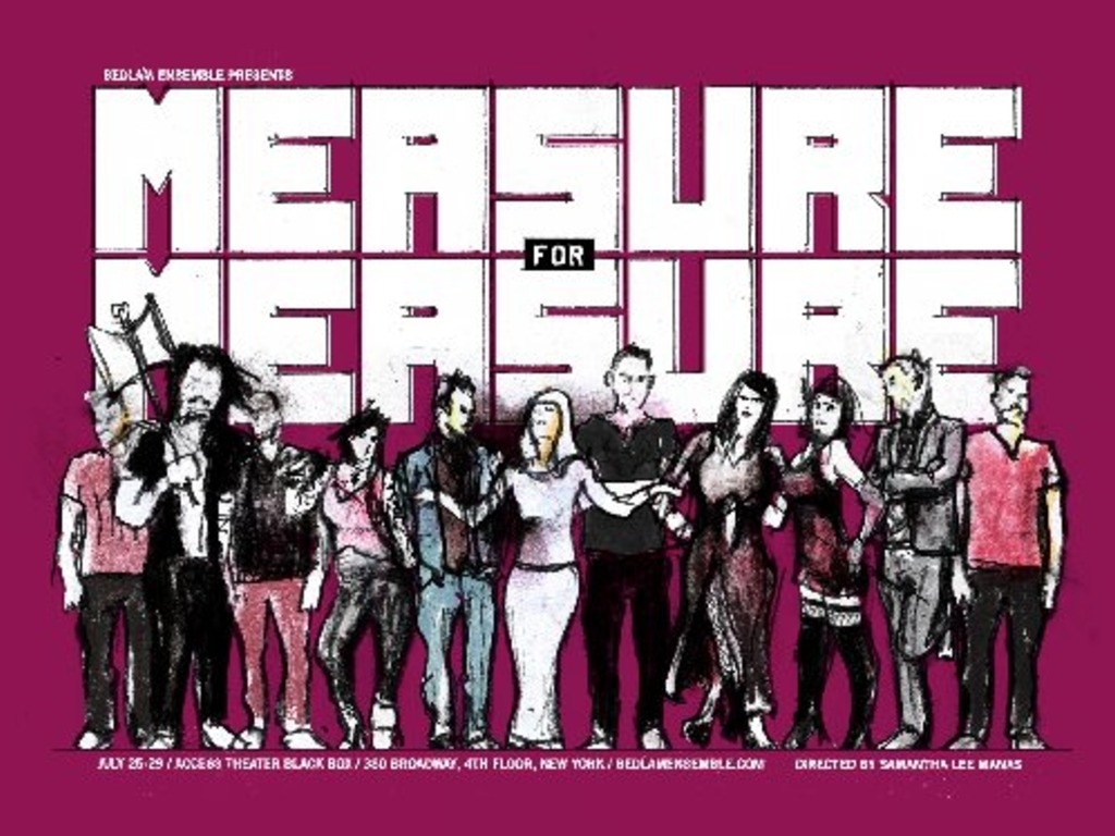 Measure for Measure's video poster