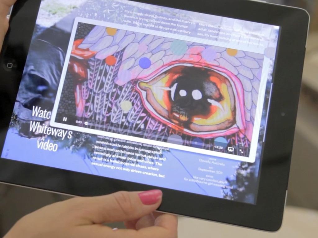 Dumbo Feather Magazine - the iPad App!'s video poster