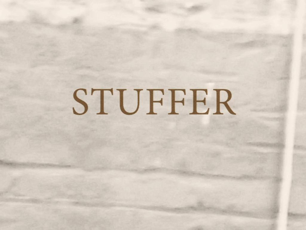 STUFFER's video poster