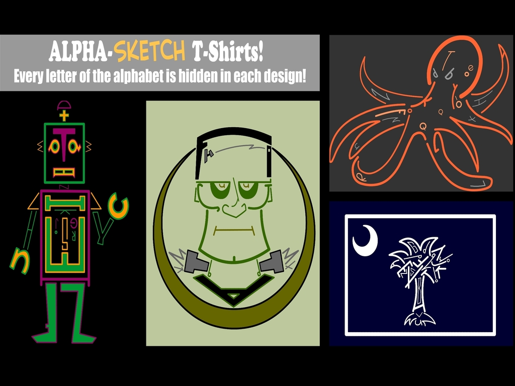 T is for T-Shirts: An Alpha-Sketch Project's video poster