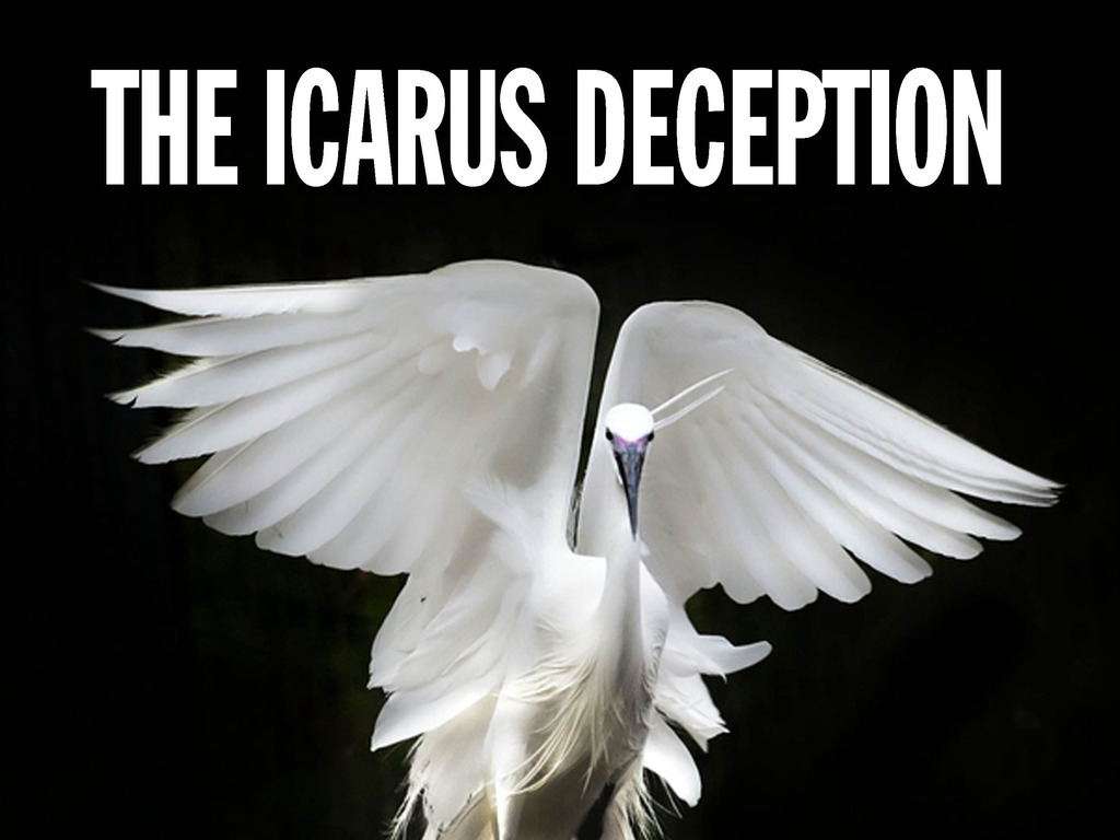 THE ICARUS DECEPTION: WHY MAKE ART? New from Seth Godin's video poster