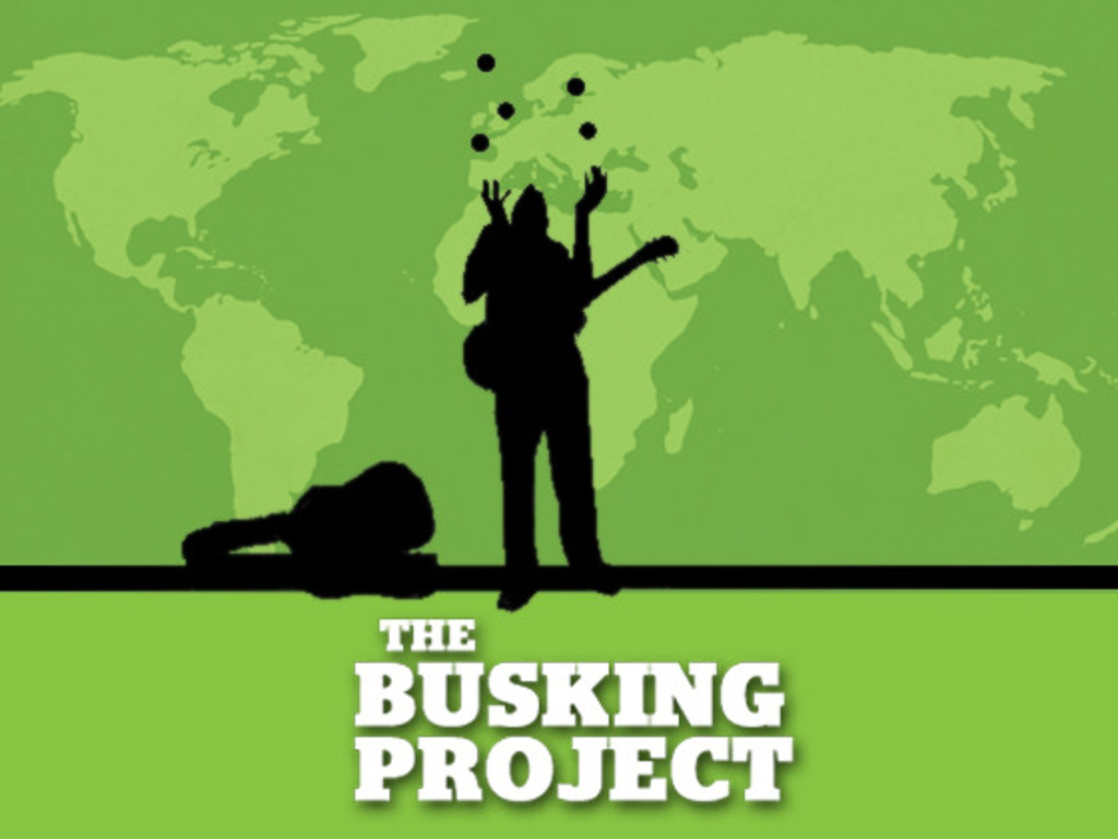 The Busking Project's video poster