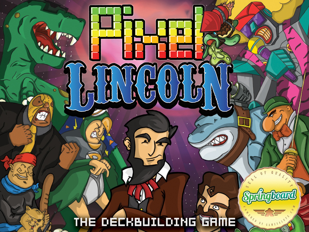 Pixel Lincoln: The Deckbuilding Game's video poster