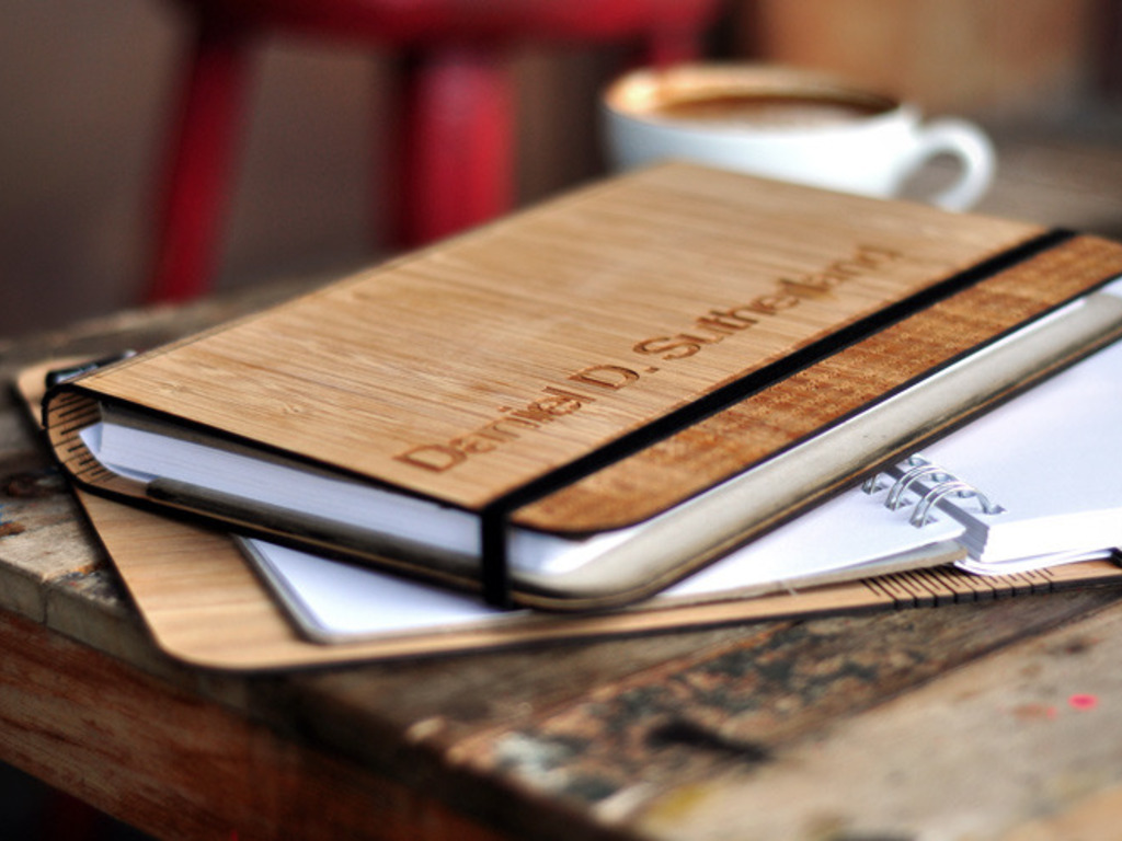 Panda Pad: A beautiful bamboo notebook, designed sustainably's video poster