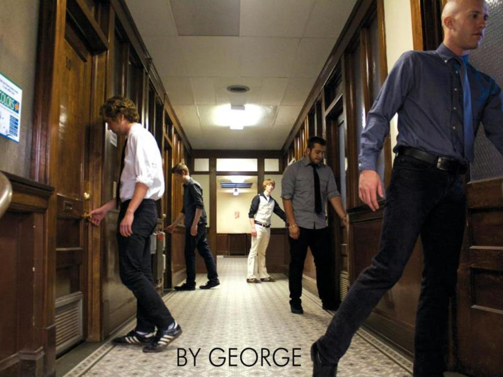 By George debut album's video poster