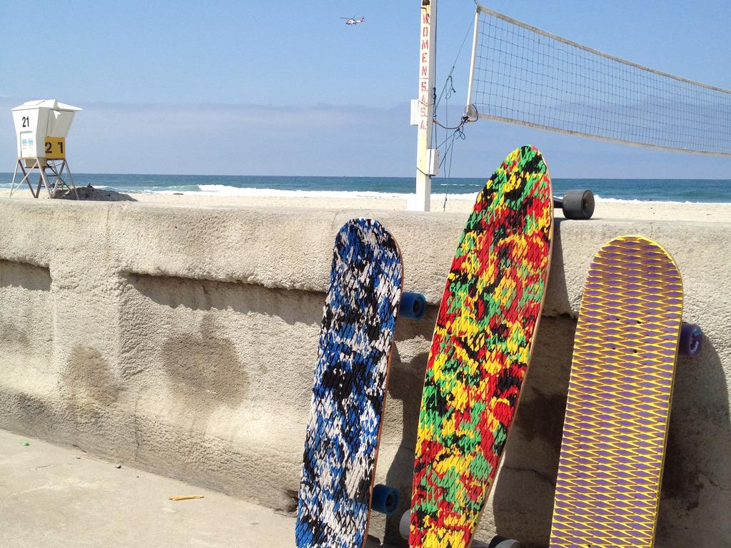 SoftSkate -  Foam Grip 'Beach Cruiser' Skateboard's video poster