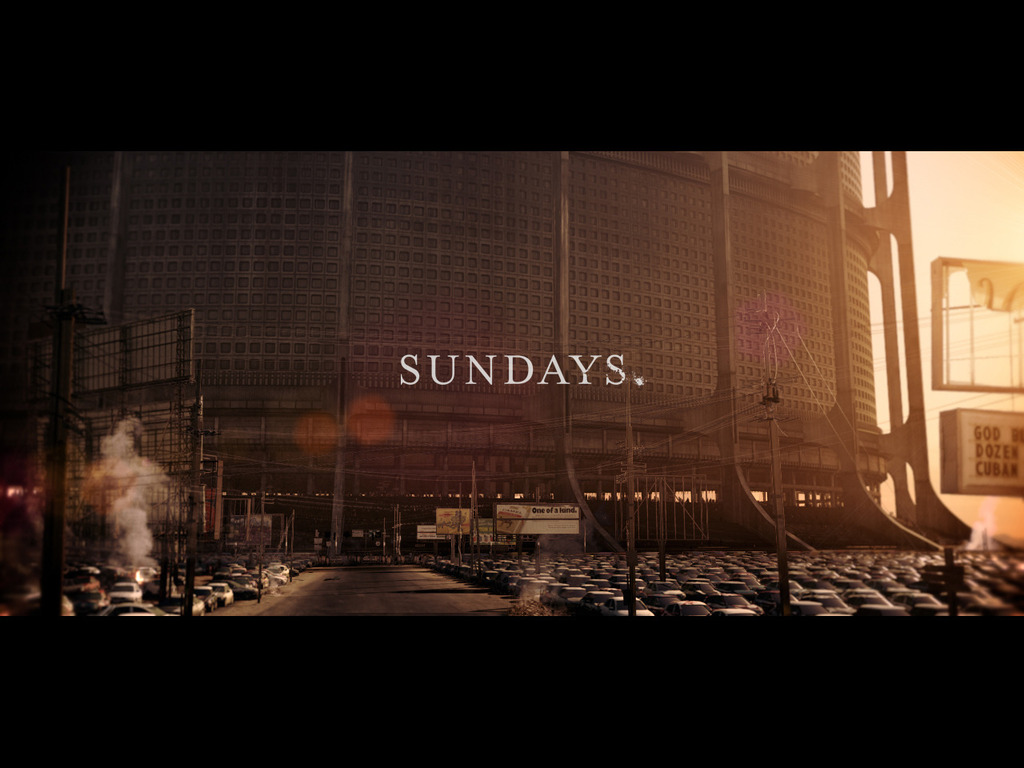 Sundays. A film about our future.'s video poster