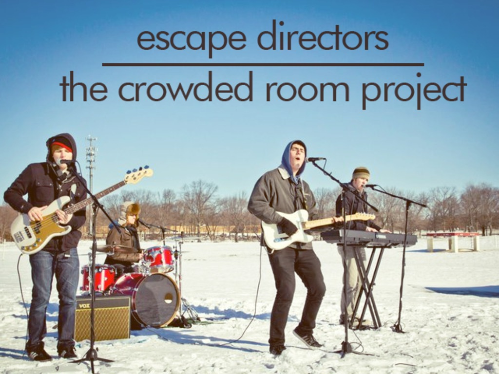 "Escape Directors ""The Crowded Room"" EP's video poster"