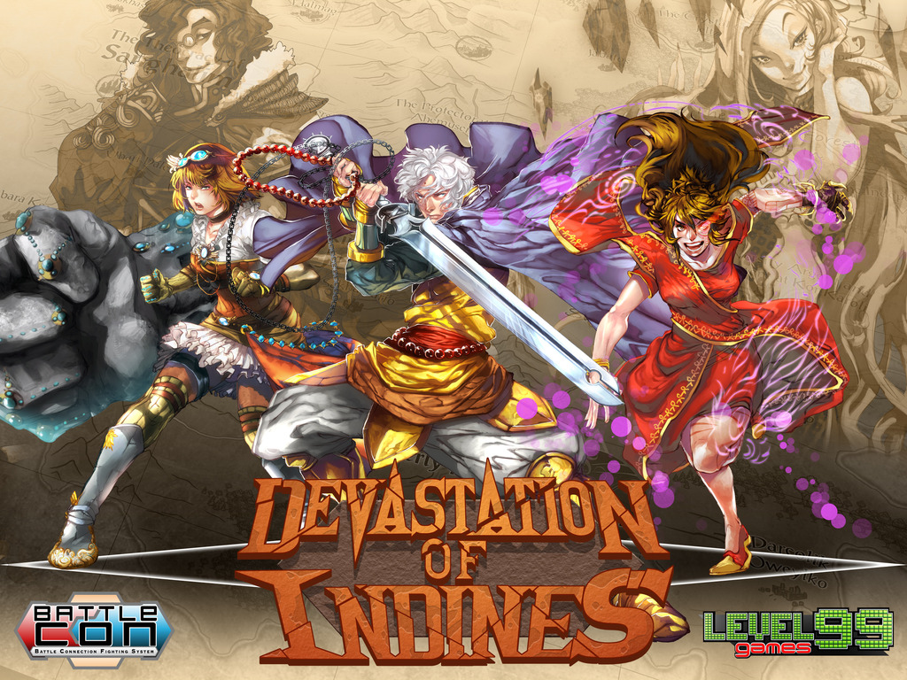 BattleCON: Devastation - A Fighting Card Game's video poster