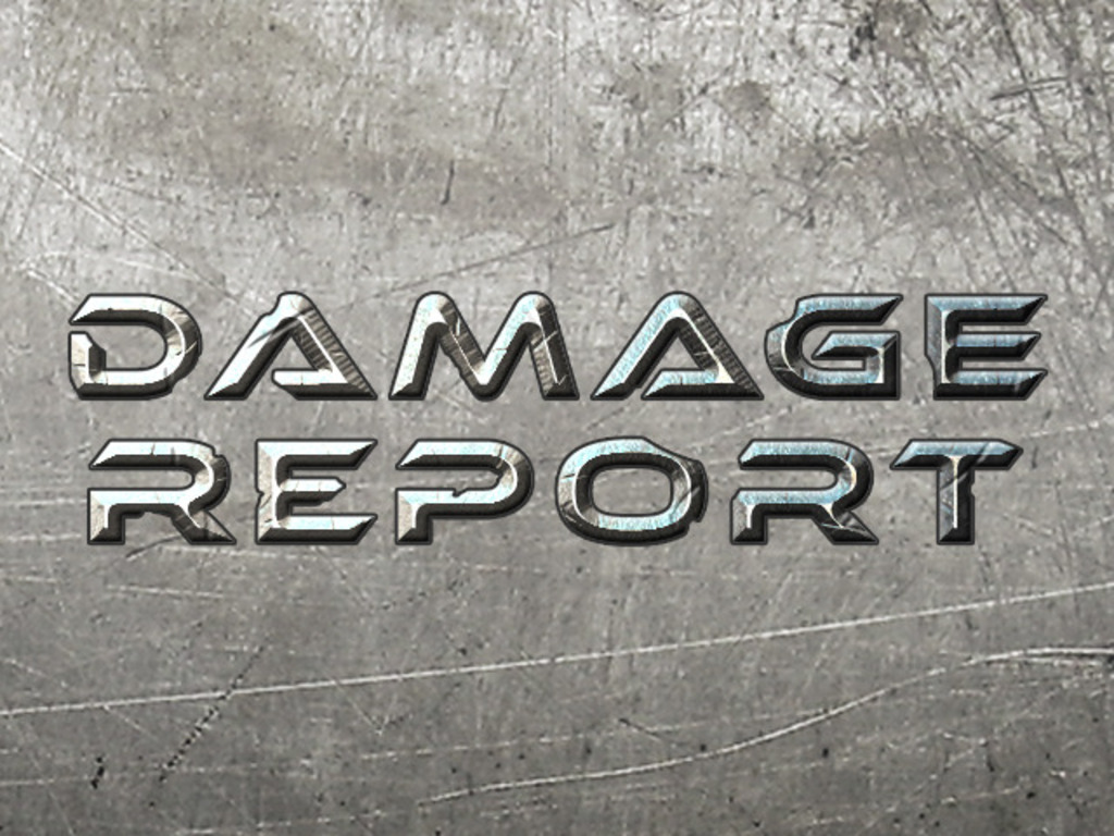 Damage Report's video poster