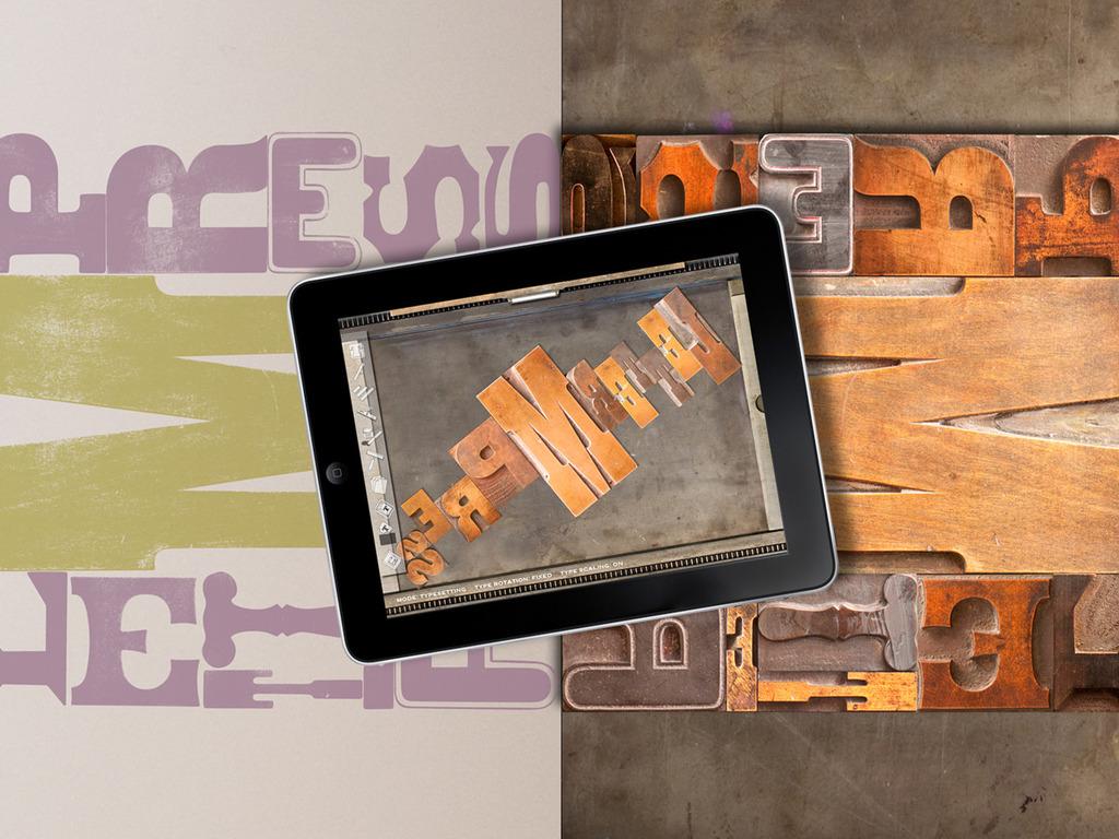 LetterMpress:  A Virtual Letterpress on Your iPad's video poster