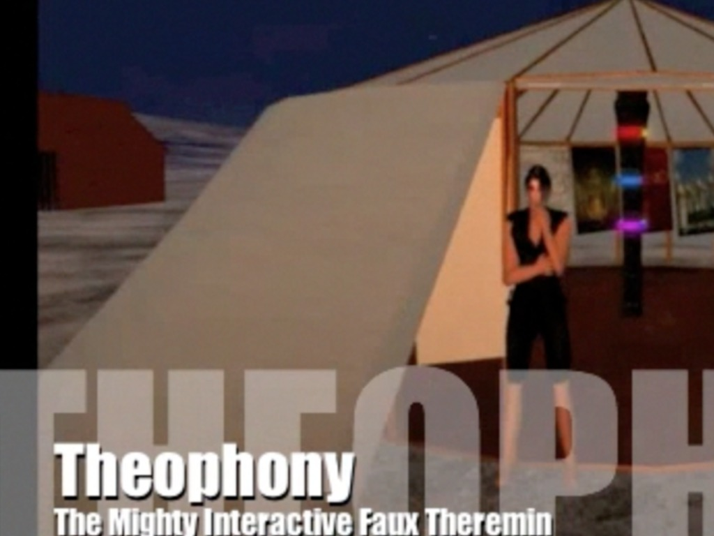 Theophony: The Mighty Interactive Theremin's video poster
