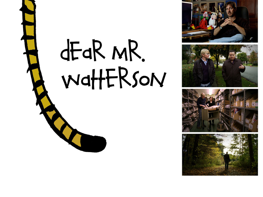 Dear Mr. Watterson - a cinematic exploration of Calvin & Hobbes's video poster