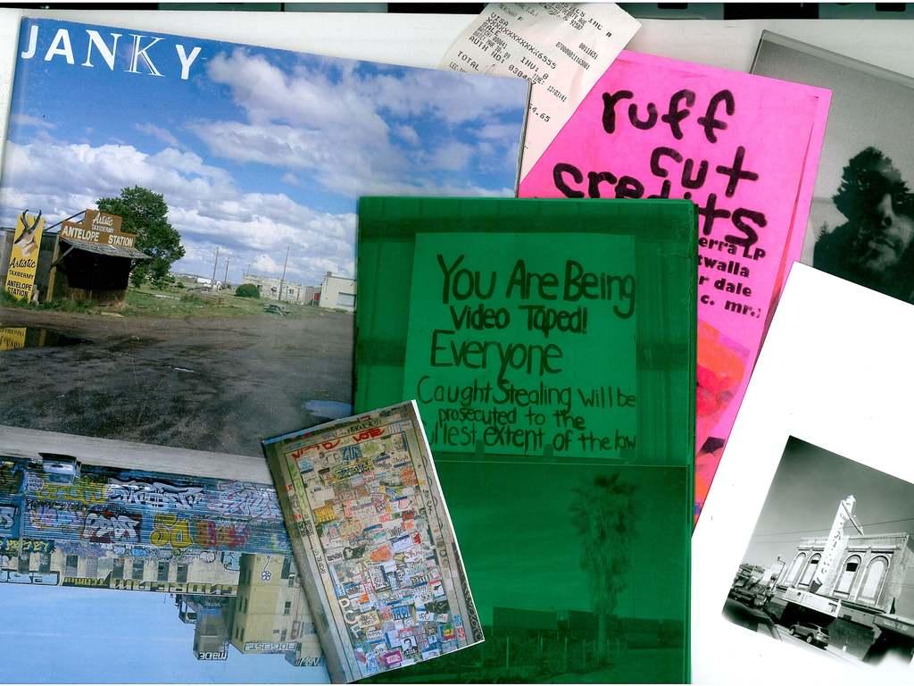 JANKY Magazine and pop-up exhibit/zine fest's video poster