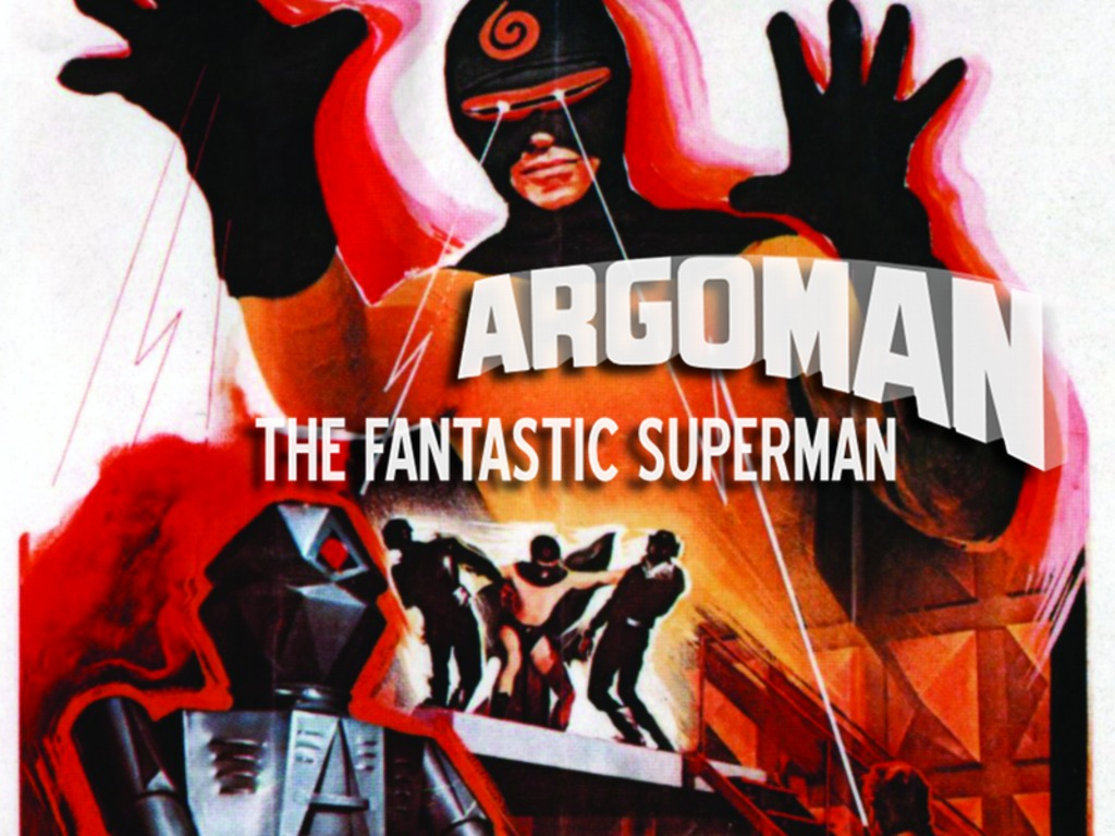 Argoman The Fantastic Superman (1967) on Blu-ray and DVD!'s video poster
