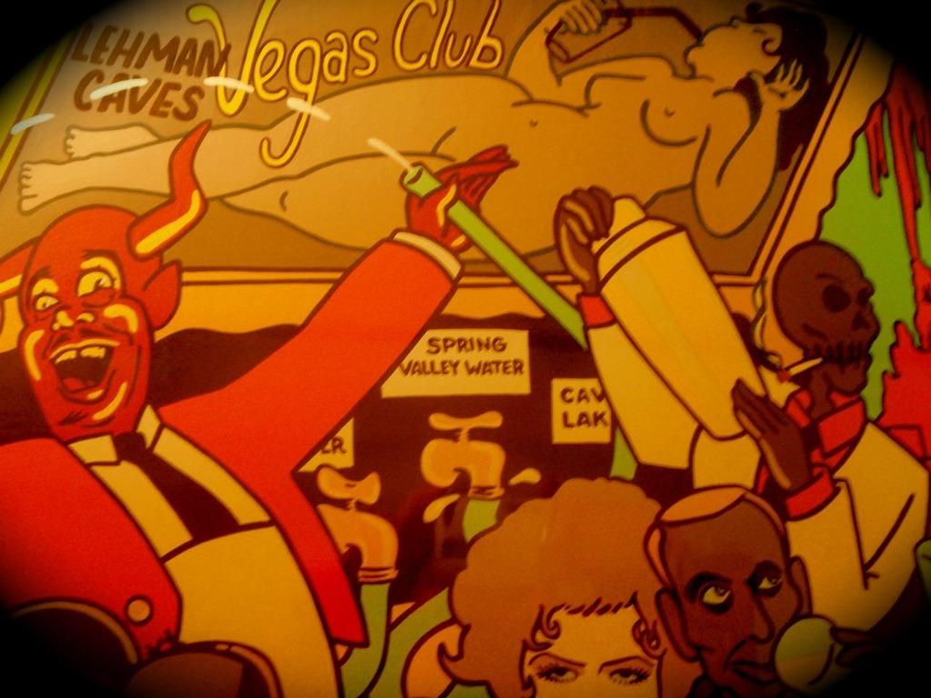Lehman Cave's Vegas Club's video poster
