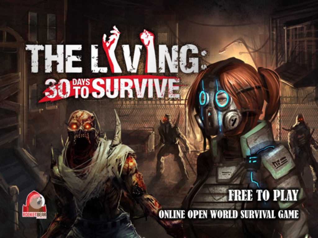 The Living: 30 Days to Survive's video poster
