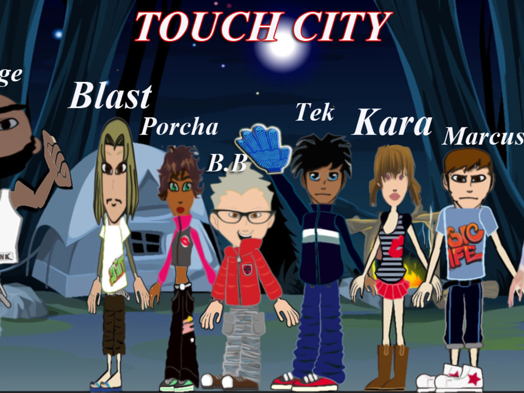 Touch City Comic: Season 1 -Redemption's video poster