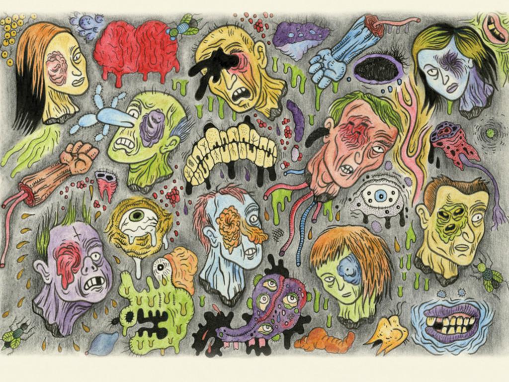 """BLACK EYE"" The Comics Anthology of Dark Humor's video poster"