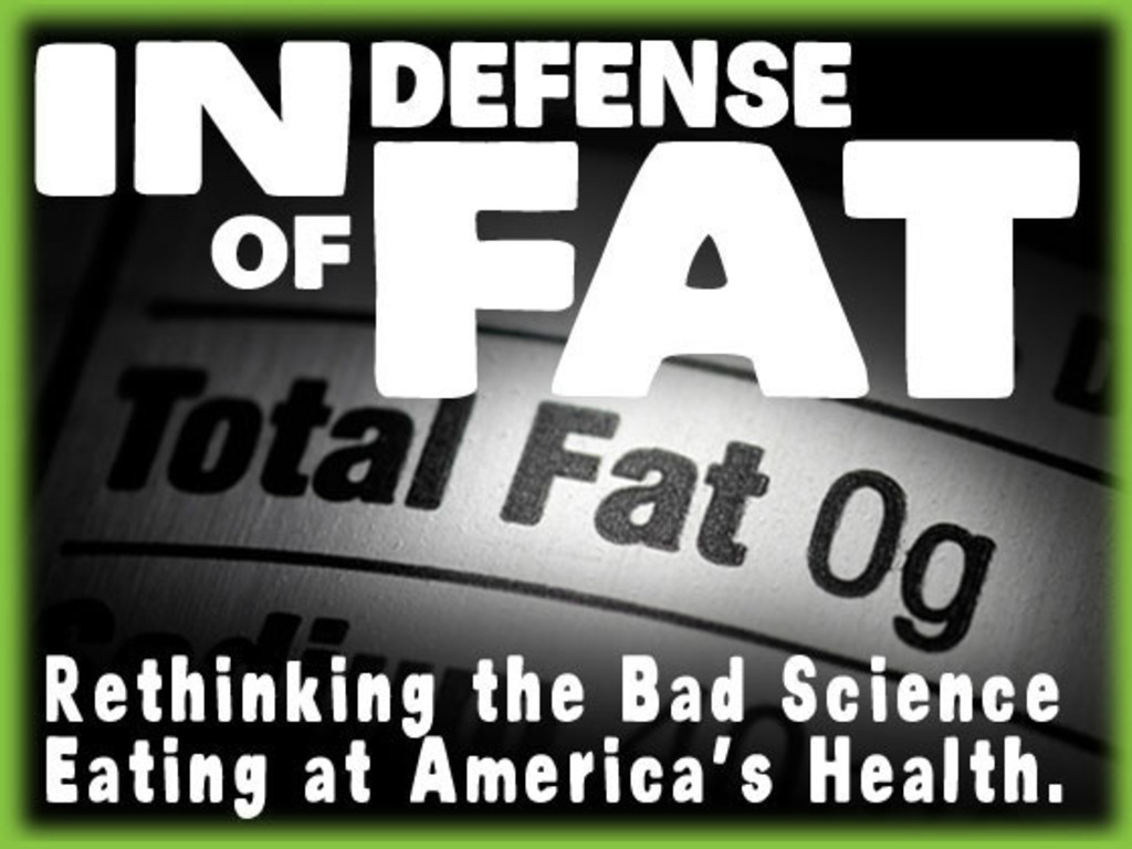 In Defense of Fat: The Documentary's video poster