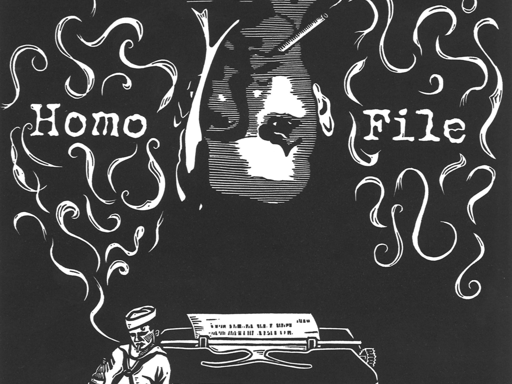 Homo File:  Chronicling the life of Samuel Steward's video poster