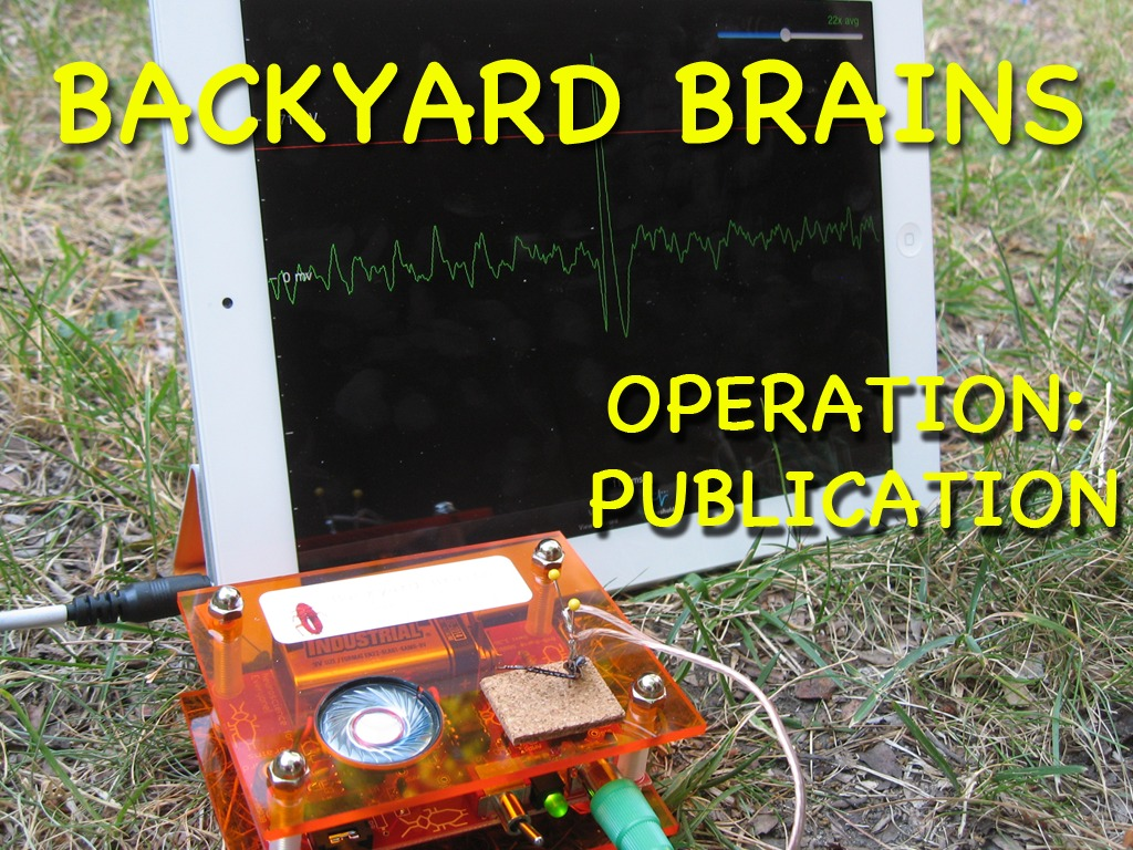 Backyard Brains: Operation Publication's video poster