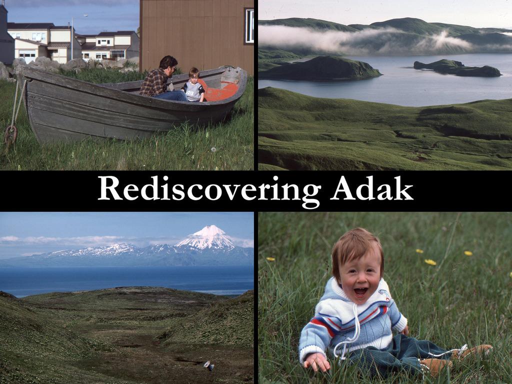Rediscovering Adak's video poster