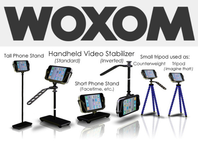 WOXOM steadies your smartphone when shooting handheld video!'s video poster