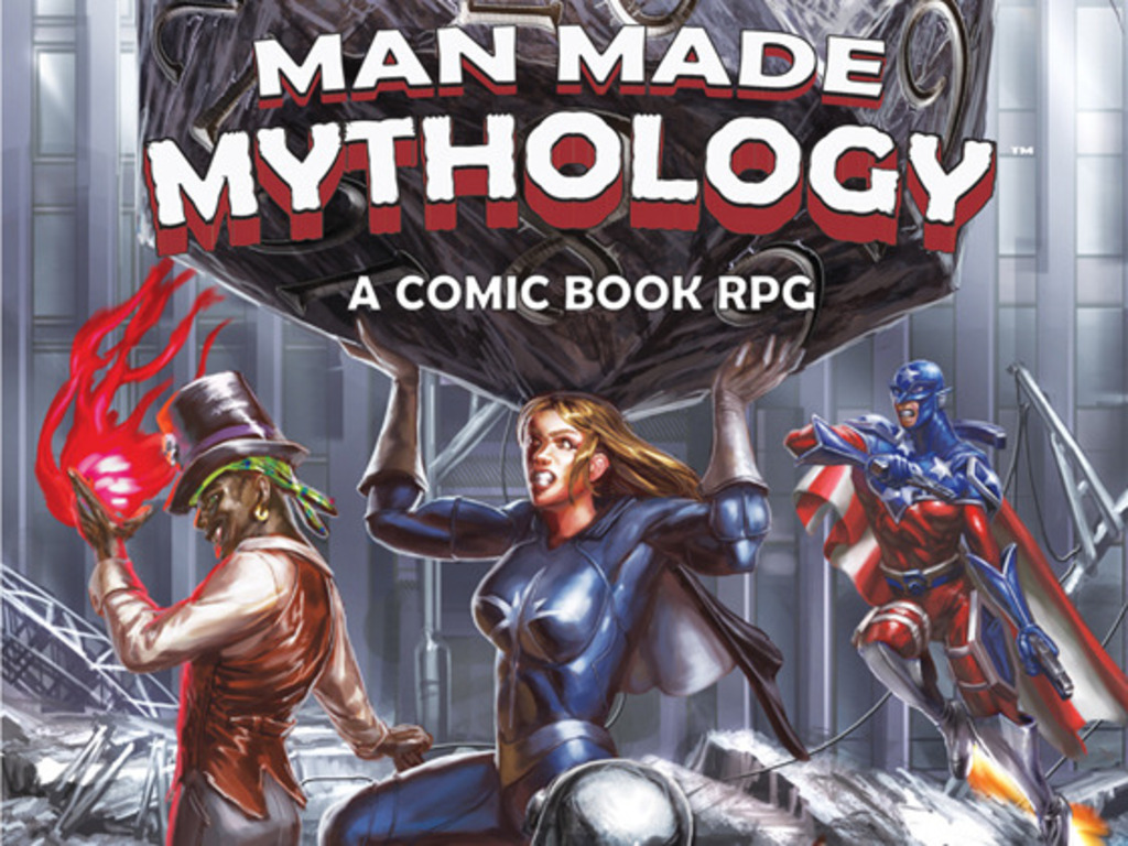 Man-Made Mythology: A Comic Book RPG's video poster