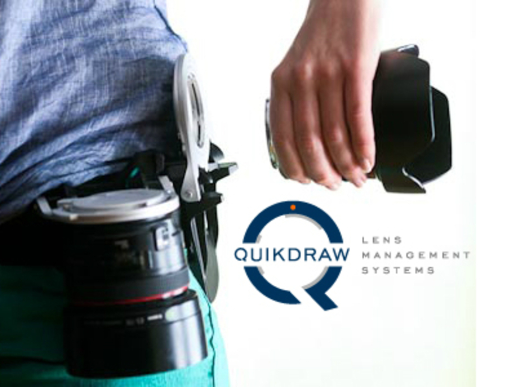 Quikdraw - an innovative lens holster's video poster